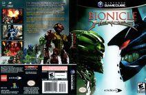 Pełna okładka gry Bionicle Heroes