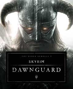 TES V- Dawnguard okładka