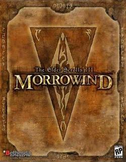 TES III Morrowind okładka