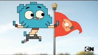 The Amazing World of Gumball-The Uncle Episode (Clip) Gumball's of Mario Fan 720pHD-0