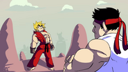 Ryu VS Ken Rap Battle Starbomb 8