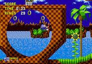 Sonic 1 Green Hill Loop-de-Loop