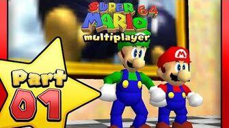 Super Mario 64 Multiplayer - Part 1-0