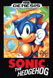 Sonic 1 (16-bit) Box Cover