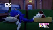 Can An Evil Genius Crash on Your Couch For A Few Weeks Sonic Sleeping