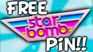 FREE STARBOMB PIN!! GET IT NOW!