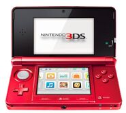 Flame Red 3DS Open