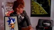 1991 Sonic The Hedgehog Commercial With Larry Cedar