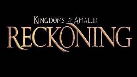 Kingdoms of Amalur Reckoning Debut Trailer HD