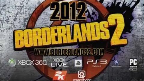Borderlands 2 Teaser Trailer HD