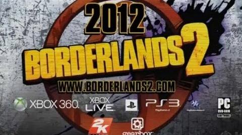 Borderlands 2 Teaser Trailer HD