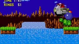 Sonic the Hedgehog (16 Bit) - Boss 1 (Egg Mobile-H)