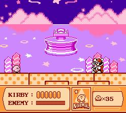 Kirby's Adventure - King Dedede - 1 (Screenshot)