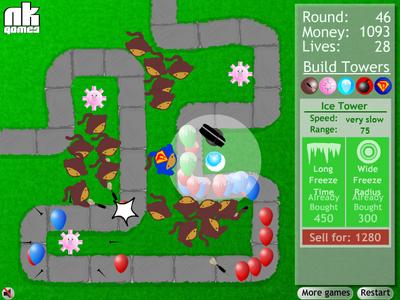 Bloons Tower Defense Screenshot
