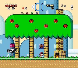 Super Mario World (SNES) - Yoshi's House - 1