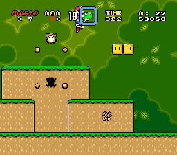 Super Mario World (SNES) - Yoshi's Island 2 - 7