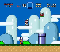Super Mario World (SNES) - Yoshi's Island 1 - 2