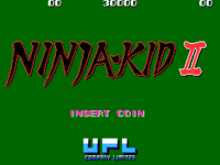 Ninja-Kid II TITULO