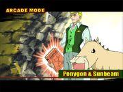 Ponygon y Sunbeam - Mamodo Fury