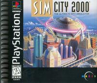 SimCity 2000 - portada PS1 USA