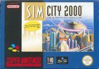 SimCity 2000 - portada SNES EUR