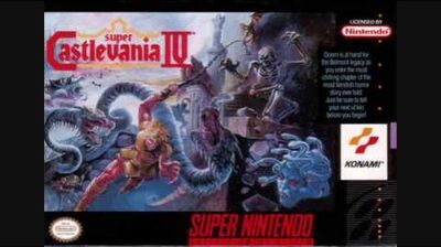 Super Castlevania IV - Dracula Battle