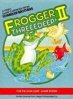 Frogger II - Threeedeep! Coverart
