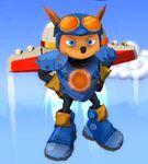 Rocket Knight - Sparkster Sprite