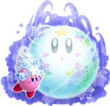 Kirby's Return to Dream Land - Bola de Nieve