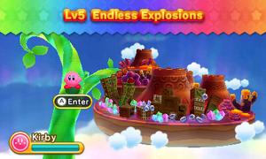 Kirby Triple Deluxe - Nivel 5
