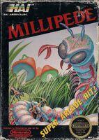 Millipede portada NES