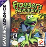 Frogger's Adventures Temple of the Frog portada