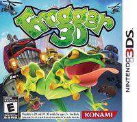 Frogger 3D portada
