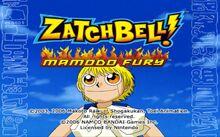 Zatch Bell Mamodo Fury captura1