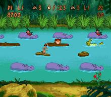 Timon & Pumbaa's Hippo Hop SNES