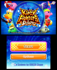 Kirby Fighters Deluxe - captura 1