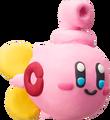 Kirby de plastilina - submarino