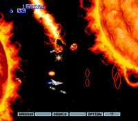 Gradius 2 captura 2