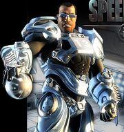 Jugador de Speedball 2T