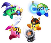 Team Kirby Clash Deluxe - Héroes legendarios