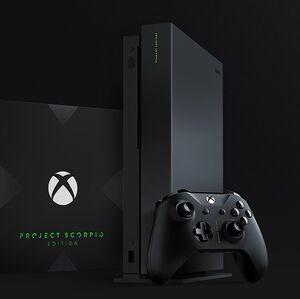 Xbox One X Project Scorpio Edition