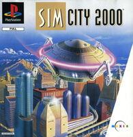 SimCity 2000 - portada PS1 EUR