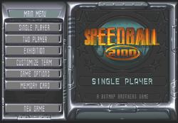 Speedball 2100 título