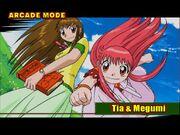 Tia & Megumi 1- Mamodo Fury