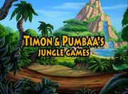 Timon & Pumbaa's Jungle Games titulo