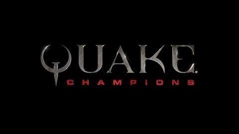 Quake Champions tráiler de presentación del E3 de 2016