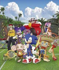 Sega Superstar Tennis crossover