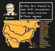 Knight Rider NES captura 6