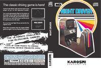 Night Driver portada MSX