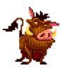 The Lion King Genesis Sprite Pumba